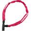 Trelock BC 115 - Candado bicicleta - 60 cm rosa
